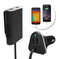 4 USB Port Passenger Car Charger