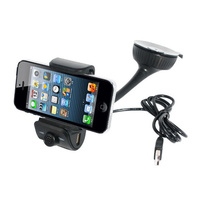 Handsfree Bluetooth Phone Charger Suction Mount