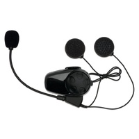 SENA SMH10 Bluetooth Headset Intercom for BELL Mag-9 Helmet - Single