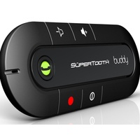 SUPERTOOTH Buddy Handsfree Car Bluetooth Speakerphone Kit