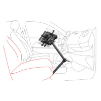 DORKAS Universal Car Seat Rail Mount for Tablets