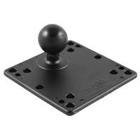 "RAM Mount 1.5"" C Size Ball with 4.75"" Square Base with VESA 4 x 75mm & x 100mm Hole Pattern"