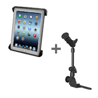 "RAM Mount No Drill Vehicle HD Floor POD 10"" Tablets"