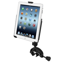 RAM Yoke Handlebar Rail Mount with iPad Mini 4 Cradle