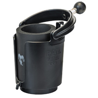 """RAM Mount Self Leveling Drink Cup Holder with 1"""" Ball"""