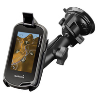 RAM Garmin GPS Oregon 200 - 600 Series Vehicle Suction Cup Mount