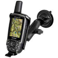 RAM Garmin GPS Map 64 Suction Cup Mount