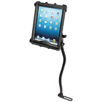 RAM Mount Car Floor No Drill Seat RAIL Mount iPad with Case