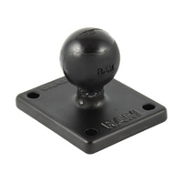 "RAM Mount GPS 2"" x 1.7"" Square Base with 1"" Ball for Garmin zumo, TomTom Rider & Urban Rider"