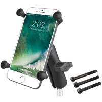 RAM Motorcycle BMW M8 Bolts Universal X-Grip Cradle iPhone Plus