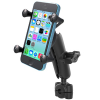 "RAM 3/8"" - 5/8"" (9-15mm) Mini Rail Mount with X-Grip for iPhone X 8 7 6 RAM-B-408-37-62-UN7U"