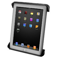 """RAM Mount Tab-Tite Cradle for 10"""" Tablets and iPad 1-4 with LifeProof Nuud & Lifedge Cases"""