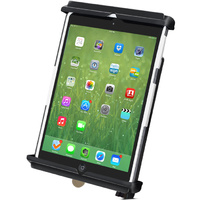 "RAM Mount Tab-Lock Locking Cradle for 8"" Tablets and iPad Mini 1-3"""