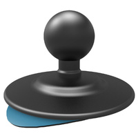 "RAM Mount 1"" Ball with 2.5"" Adhesive Base"