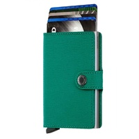 Secrid Mini Wallet EMERALD Crisple Wallet RFID Credit Card Protector