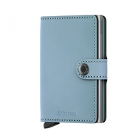 Secrid MiniWallet Leather Wallet BLUE MATT RFID Credit card Protector