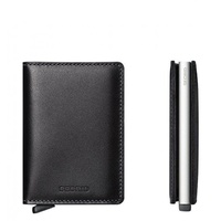 Secrid SLIM Wallet Leather Black SC3003 RFID Credit Card Protector