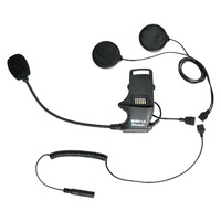 SENA SMH10  clamp kit speakers & earbuds Bluetooth intercom headset