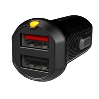 Dual 3.4 Amp Universal Car Charger with Device Sensing Technology (DST)