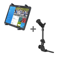 "RAM Mount No Drill Vehicle HD Floor Pod for 12.9"" Tablet"