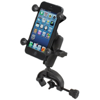 RAM Mount Handlebar Rail Tripod Yoke Clamp Mount Universal Cradle Holder iPhone 6 7 8 X