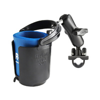 RAM Drink Cup Holder U-Bolt Handlebar Rail Base