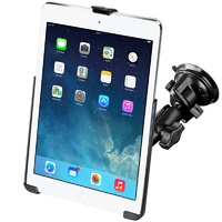 "RAM Mount Vehicle Suction Cup Mount iPad Air 1 & 2, iPad Pro 9.7"" iPad 5 & 6 Gen"