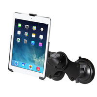 RAM Mount Dual Suction Cup Mount iPad Air 1 & 2, iPad Pro 9.7 iPad 5 & 6 Gen
