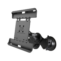 "RAM Mount Dual Suction Cup 10"" Tablets with Heavy Duty Case"
