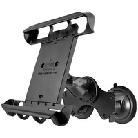 "RAM Dual Suction Cup Glass Mount 10"" Tablets using Heavy Duty Case"
