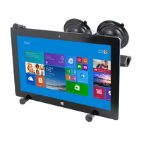 "RAM Universal 12"" Tablet X-Grip Cradle Mount with Dual Suction Mount"