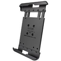 "RAM Mount Cradle 8"" Tablets Samsung TAB A & S2 8.0 A using Heavy Duty Case"