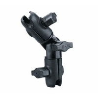 "RAM Mount Double Socket Swivel Arm for 1"" Balls"