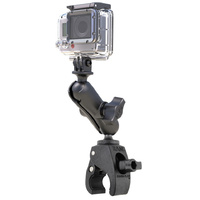 RAM Mount Tough-Claw GoPro Camera Handlebar Rail Mount