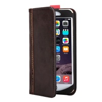 iPhone 6 Plus Retro Flip Book Cover - Brown